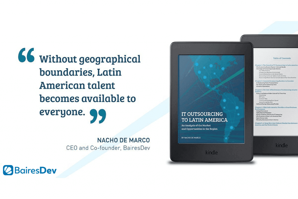 IT Outsourcing to Latin America eBook Quote by Nacho de Marco