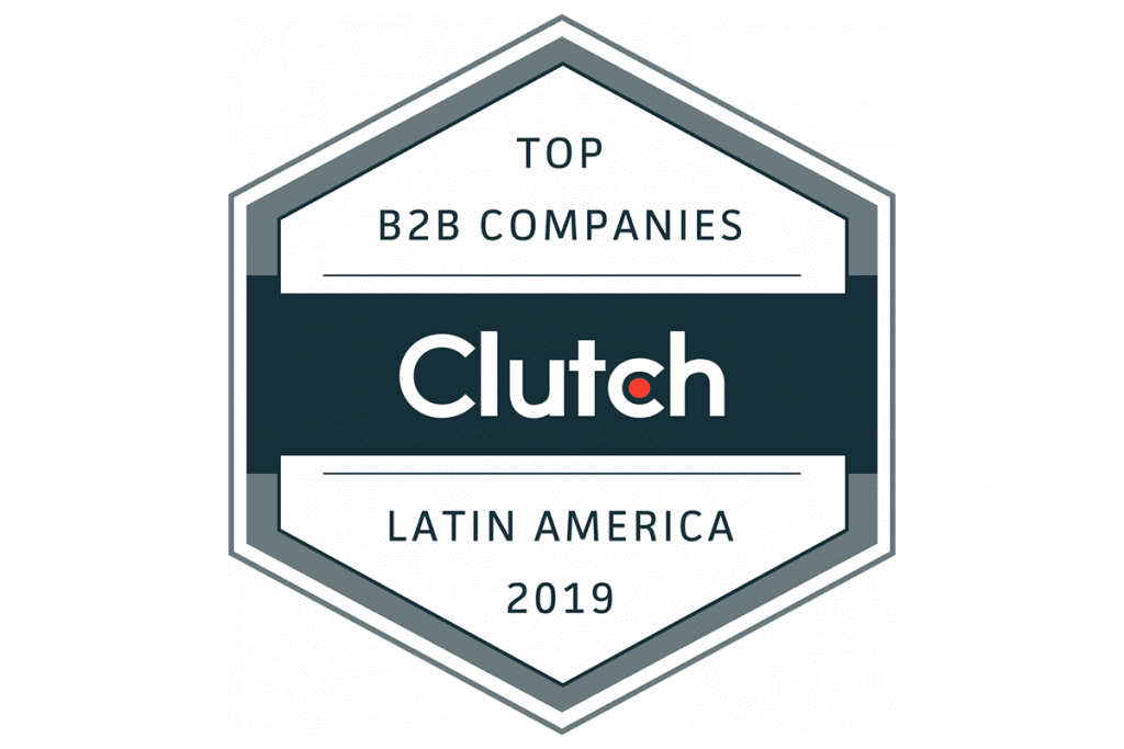 Clutch Badge for Top B2B Companies in Latam BairesDev