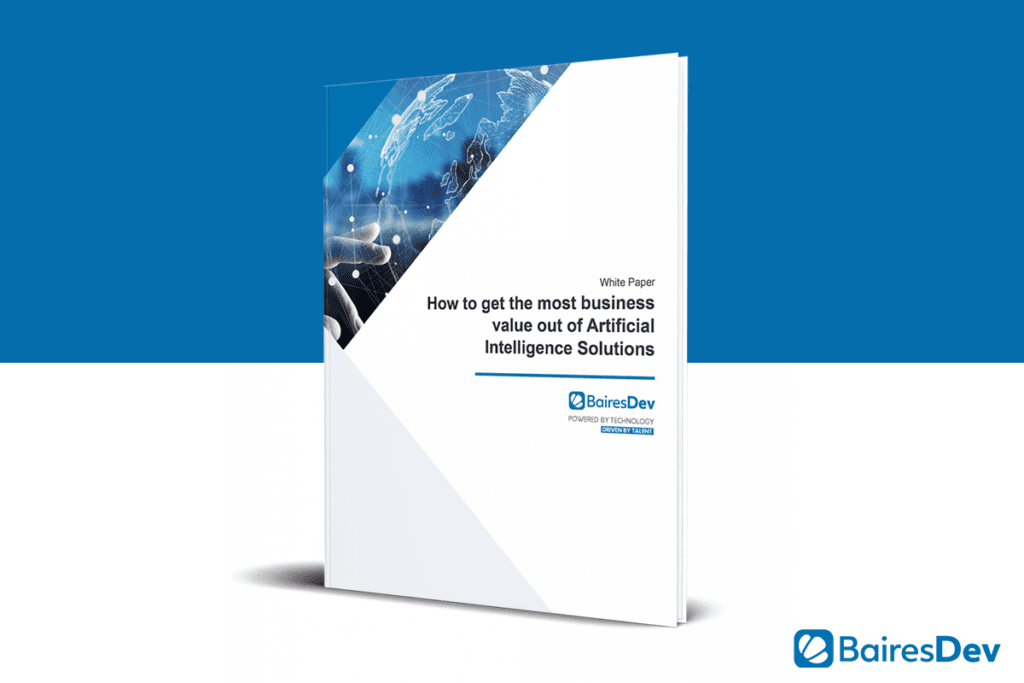 AI and Business value Whitepaper