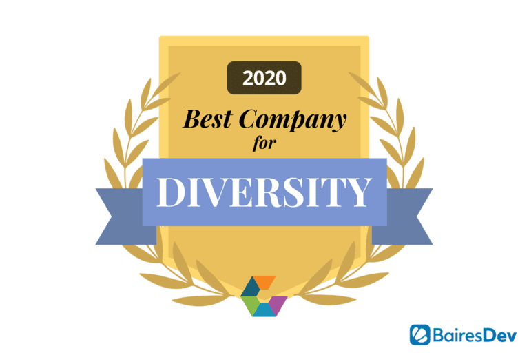 Comparably Best Company for Diversity Badge